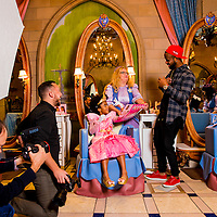 ORLANDO, FL  - January 30, 2015 -- Toronto Blue Jays shirt stop José Reyes and his family enjoy a day at Walt Disney World in Orlando, Florida.  (PHOTO / Chip Litherland for ESPN the Magazine)