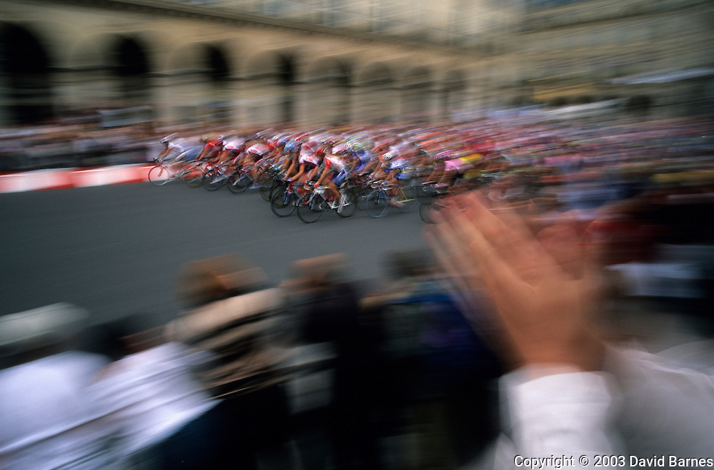 Finish of the Tour de France, Paris, France
