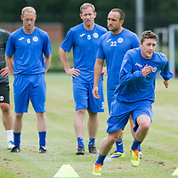 St Johnstone Pre-Season Training...07.07.14<br /> Tom Scobbie during a running exercise<br /> Picture by Graeme Hart.<br /> Copyright Perthshire Picture Agency<br /> Tel: 01738 623350  Mobile: 07990 594431