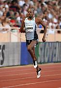 Steven Gardiner (BAH) wins the 400m in 44.51 during the Herculis Monaco in an IAAF Diamond League meet at Stade Louis II stadium in Fontvieille, Monaco on Friday, July 12, 2019. (Jiro Mochizukii/Image of Sport)