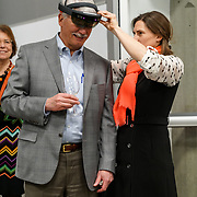 PNB Pointe To The Stars 2018 fundraiser and performance at the Living Computer Museum. David Hadley (PNB Board Past President). Photo by Alabastro Photography.