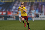 Burnley defender Ben Mee (6)  during the Sky Bet Championship match between Huddersfield Town and Burnley at the John Smiths Stadium, Huddersfield, England on 12 March 2016. Photo by Simon Davies.