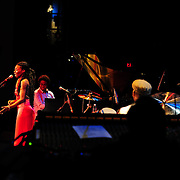 "The Band: Buika, vocals; Iván ""Melon"" Lewis, piano; Dany Noe, Bass; Fernando Favier, percussion."