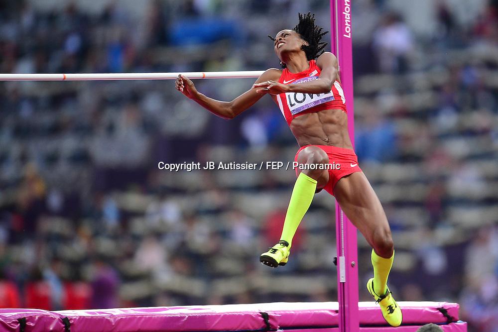 Chaunte Lowe (usa) - finale saut en hauteur femmes