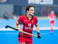 BHUBANESWAR (INDIA) - Thomas Briels (Belgie)  tijdens Belgie-Pakistan bij het WK Hockey heren.   COPYRIGHT KOEN SUYK