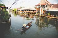 Damnoen Saduak damnoensaduak floating market thailand