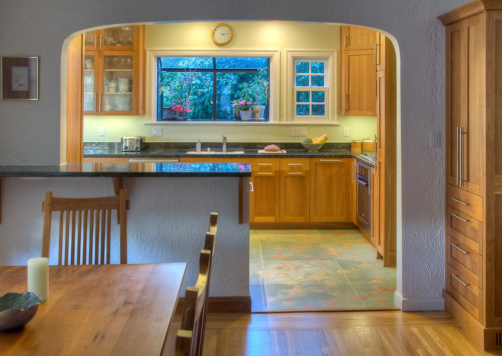 Residential kitchen remodel. Andrew Lee Architect.