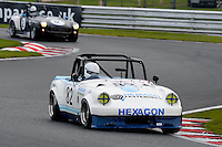 #82 Tim Cairns MG Hexagon Midget 1460 during the CSCC Special Saloons and Modsports at Oulton Park, Little Budworth, Cheshire, United Kingdom. October 15 2016. World Copyright Peter Taylor/PSP. <br /> Copy of publication required for printed pictures.  Every used picture is fee-liable. http://archive.petertaylor-photographic.co.uk