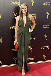 .Allison Janney  attends  2016 Creative Arts Emmy Awards - Day 1 at  Microsoft Theater on September 10th, 2016  in Los Angeles, California.Photo:Tony Lowe/Globephotos
