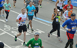 01-11-2015 USA: NYC Marathon We Run 2 Change Diabetes day 4, New York<br /> De dag van de marathon, 42 km en 195 meter door de straten van Staten Island, Brooklyn, Queens, The Bronx en Manhattan / Tom