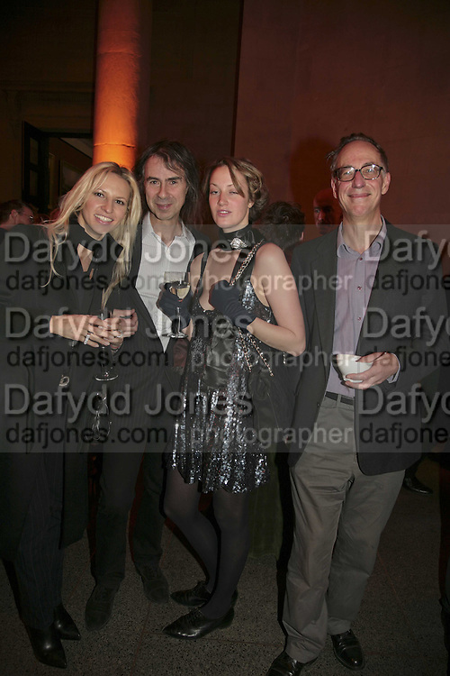 Maria Matson, Ivor Braka, Lianne Ellott and Bill Feaver Turner Prize 2006. Tate Gallery. London. 4 December 2006. ONE TIME USE ONLY - DO NOT ARCHIVE  © Copyright Photograph by Dafydd Jones 248 CLAPHAM PARK RD. LONDON SW90PZ.  Tel 020 7733 0108 www.dafjones.com