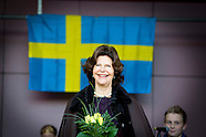 QUEEN SILVIA OF SWEDEN  VISITS KERKRADE