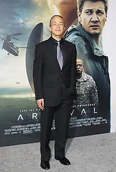 Ted Chiang at the Los Angeles premiere of 'Arrival' held at the Regency Village Theater in Westwood, USA on November 6, 2016.