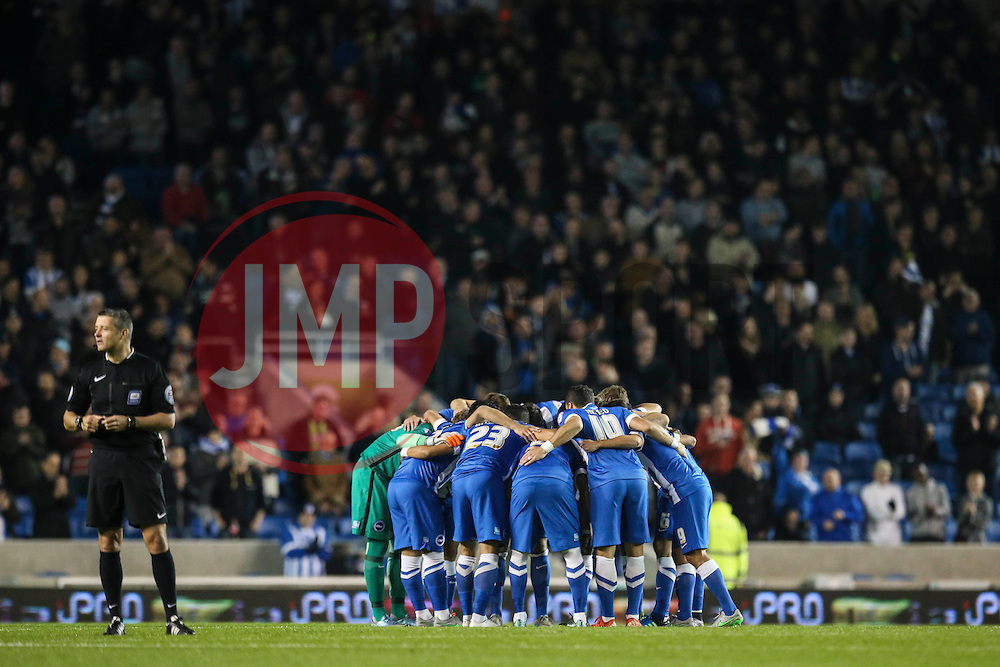 Brighton & Hove Albion - Mandatory byline: Jason Brown/JMP - 07966 386802 - 20/10/2015 - FOOTBALL - American Express Community Stadium - Brighton,  England - Brighton & Hove Albion v Bristol City - Championship
