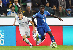 "March 23, 2019 - Udine, Italia - Foto LaPresse/Andrea Bressanutti.23/03/2019 Udine (Italia).Sport Calcio.Italia vs. Finlandia - European Qualifiers - Stadio ""Dacia Arena"".Nella foto: kean..Photo LaPresse/Andrea Bressanutti.March  23, 2019 Udine (Italy).Sport Soccer.Italy vs Finland - European Qualifiers  - ""Dacia Arena"" Stadium .In the pic: kean (Credit Image: © Andrea Bressanutti/Lapresse via ZUMA Press)"