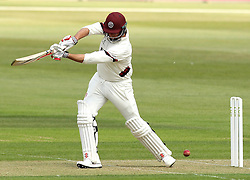 Somerset's Marcus Trescothick plays through the offside - Photo mandatory by-line: Robbie Stephenson/JMP - Mobile: 07966 386802 - 21/06/2015 - SPORT - Cricket - Southampton - The Ageas Bowl - Hampshire v Somerset - County Championship Division One