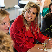 NLD/Eindhoven/20140623 - Rondetafelgesprek Koningin Maxima bij bijeenkomst Kracht on Tour<br /> <br /> Queen Maxima attends the Power on Tour meeting in Eindhoven the Netherlands