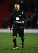 London - Wednesday, December 12th, 2008: Paul Stephenson of Norwich City against Watford during the Coca Cola Championship match at Vicarage Road, London. (Pic by Chris Ratcliffe/Focus Images)