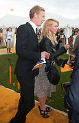 LAURENCE FOX; BILLIE PIPER, The Veuve Clicquot Gold Cup Final.<br /> Cowdray Park Polo Club, Midhurst, , West Sussex. 15 July 2012.