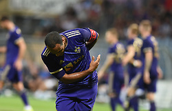 Marcos Magno Morales Tavares of Maribor  celebrates during 2nd Leg Football match between NK Maribor (SLO) and Valur Reykjavík (ISL) in First qualifying round of UEFA Champions League 2019/20, on July 17, 2019, in Stadium Ljudski vrt, Maribor, Slovenia. Photo by Milos Vujinovic / Sportida