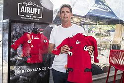 October 6, 2017 - Pete Mel during the Press Conference at the Quiksilver and Roxy Pro France 17..Quiksilver Pro France 2017, Landes, France - 06 Oct 2017 (Credit Image: © Rex Shutterstock via ZUMA Press)