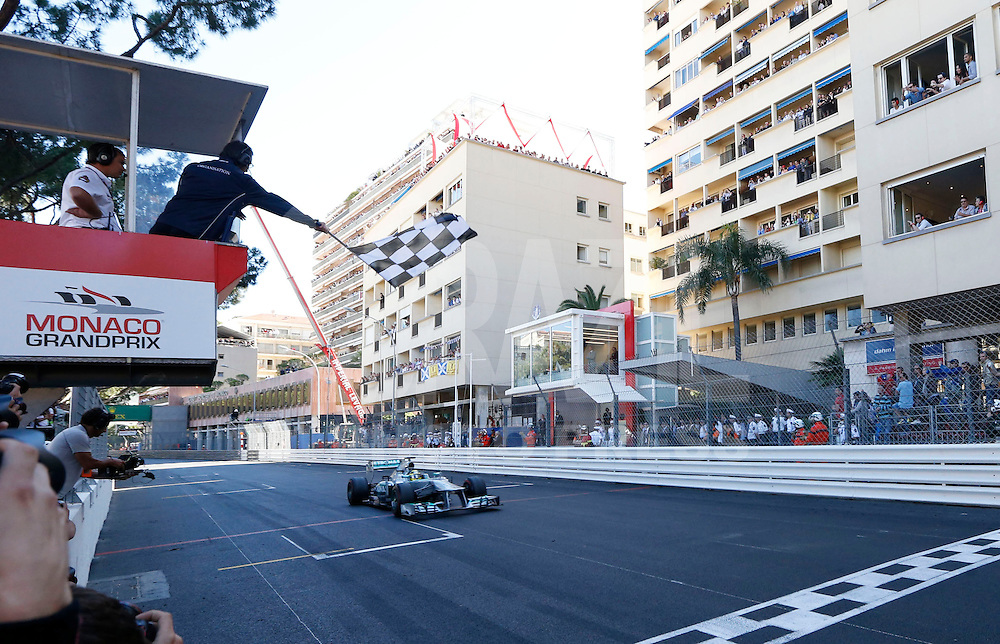 MONTECARLO, MONACO, 26 MAIO 2013 - F1 GP DE MONACO - O piloto alemão Nico Rosberg da equipe Mercedes GP , durante o Grande Premio de Monaco de Formula 1, neste domingo. FOTO: PIXATHLON / BRAZIL PHOTO PRESS.