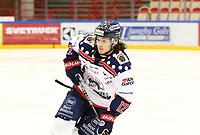 2018-11-14 | Ljungby, Sweden: Mörrums (12) Gabriel Altberg during the game between Troja Ljungby and Mörrums GoIS at Ljungby Arena ( Photo by: Fredrik Sten | Swe Press Photo )<br /> <br /> Keywords: Icehockey, Ljungby, HockeyEttan, Troja Ljungby, Mörrums GoIS, Ljungby Arena div1, division, troja, ljungby, mörrum, gois,