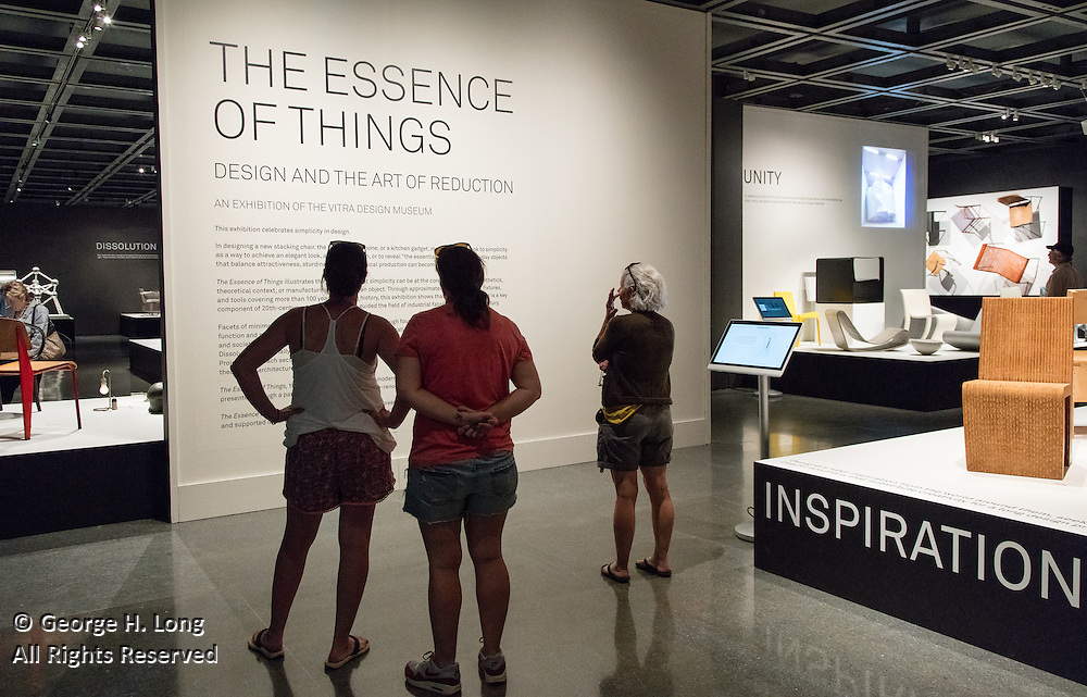 """""""The Essence of Things: Design and the Art of Reduction"""" exhibit at the New Orleans Museum of Art;Smithsonian's Design Institute New Orleans; Cooper Hewitt Design K-12; a creativity conference for New Orleans teachers"""