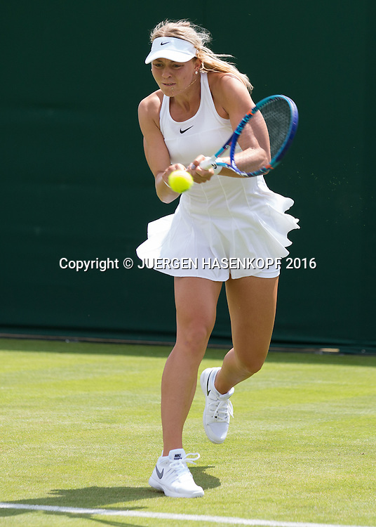 Carina Witthoeft (GER)<br /> <br /> Tennis - Wimbledon 2016 - Grand Slam ITF / ATP / WTA -  AELTC - London -  - Great Britain  - 27 June 2016.