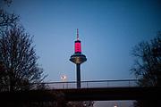 Frankfurt television tower.