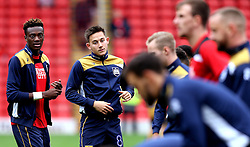 Josh Brownhill of Bristol City warms up ahead of the match against his old club, Barnsley - Mandatory by-line: Robbie Stephenson/JMP - 29/10/2016 - FOOTBALL - Oakwell Stadium - Barnsley, England - Barnsley v Bristol City - Sky Bet Championship