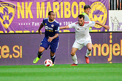 Marcos Tavares of NK Maribor during football match between NK Maribor and NS Mura in 2nd Round of Prva liga Telekom Slovenije 2018/19, on July 29, 2018 in Ljudski vrt, Maribor, Slovenia. Photo by Mario Horvat / Sportida
