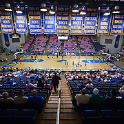 02/05/12 Newark DE: Delaware fans arriving at the Bob Carpenter Center prior to the start of a Colonial Athletic Association game against the VCU Lady Rams, Feb. 5, 2012 at the Bob carpenter center in Newark Delaware...Special to The News Journal/SAQUAN STIMPSON
