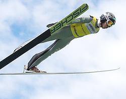 27.09.2015, Energie AG Skisprung Arena, Hinzenbach, AUT, FIS Ski Sprung, Sommer Grand Prix, Hinzenbach, im Bild Kento Sakuyama (JPN) // during FIS Ski Jumping Summer Grand Prix at the Energie AG Skisprung Arena, Hinzenbach, Austria on 2015/09/27. EXPA Pictures © 2015, PhotoCredit: EXPA/ Reinhard Eisenbauer