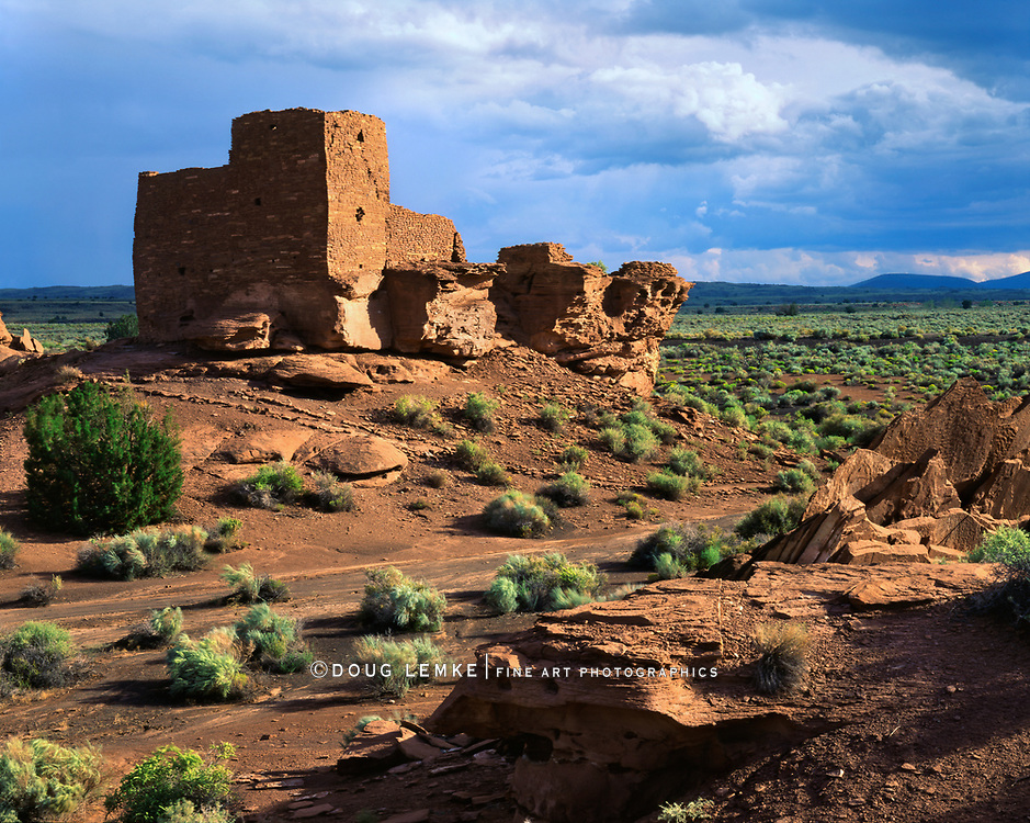The Wukoki Pueblo Ruin, Wupatki National Monument, Arizona, USA