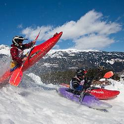 20100313: AUT, Snowkayak World Championships 2010