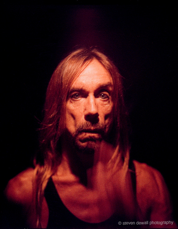 Iggy Pop photographed in Williamsburg, NY 2001
