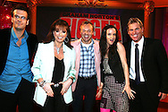 THE GRAHAM NORTON SHOW WITH GUESTS MARCUS JACKIE COLLINS GRAHAM NORTON JULIET LEWIS AND SHANE WARN.25.9.06.PIX STEVE BUTLER