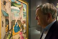 Nederland, Den Bosch, 20181129<br /> Uit de stal van Bosch. Jheronimus Bosch en de Aanbidding der Koningen. <br /> prof. dr. A.M. Koldeweij bekijkt het vroege Jheronimus Bosch schilderij uit de MET.<br /> Het Noordbrabants Museum in &rsquo;s-Hertogenbosch presenteert 1december 2018 t/m 10 maart 2019 de tentoonstelling &lsquo;Jheronimus Bosch en de Aanbidding der Koningen&rsquo;. Jheronimus Bosch geldt wereldwijd als de meest intrigerende laatmiddeleeuwse kunstenaar van de Nederlanden. <br /> Het schilderij de Aanbidding der Koningen (1475) uit The Metropolitan Museum of Art in New York is te zien op de tentoonstelling. Afgebeeld zijn de drie koningen die hulde brengen aan het Christuskind op de schoot van Maria. Daarnaast zijn diverse kopie&euml;n te zien uitgevoerd door tijdgenoten.<br /> Het onderzoek gedaan door het Bosch Research and Conservation Project olv. prof. dr. A.M. Koldeweij en dr. M. Ilsink staat aan de basis van deze tentoonstelling.<br /> <br /> <br /> The Netherlands, Den Bosch, 20181129<br /> From Bosch's stable. Jheronimus Bosch and the Adoration of the Kings.<br /> The Noordbrabants Museum in 's-Hertogenbosch will present the exhibition' Jheronimus Bosch and the Adoration of the Kings' from 1 December 2018 to 10 March 2019. Jheronimus Bosch is regarded worldwide as the most intriguing late medieval artist of the Netherlands.<br /> The painting The Adoration of the Kings (1475) from The Metropolitan Museum of Art in New York can be seen at the exhibition. Pictured are the three kings who pay tribute to the Christ Child on the womb of Mary. In addition, several copies can be seen performed by contemporaries.<br /> The research done by the Bosch Research and Conservation Project. Prof. A.M. Koldeweij and Dr M. Ilsink is the basis of this exhibition.