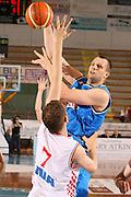 DESCRIZIONE : Porto San Giorgio 3° Torneo Internazionale dell'Adriatico Italia-Croazia<br /> GIOCATORE : Paolo Barlera<br /> SQUADRA : Nazionale Italiana Uomini Italia<br /> EVENTO : Porto San Giorgio 3° Torneo Internazionale dell'Adriatico<br /> GARA : Italia Croazia<br /> DATA : 06/06/2007 <br /> CATEGORIA : Tiro<br /> SPORT : Pallacanestro <br /> AUTORE : Agenzia Ciamillo-Castoria/E.Castoria<br /> Galleria : Fip Nazionali 2007 <br /> Fotonotizia : Porto San Giorgio 3° Torneo Internazionale dell'Adriatico Italia-Croazia<br /> Predefinita :