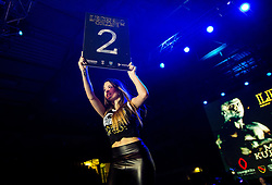 Hostess during fight event named Legends Collide, on November 17, 2018, in Arena Bonifika, Koper / Capodistria, Slovenia. Photo by Vid Ponikvar / Sportida