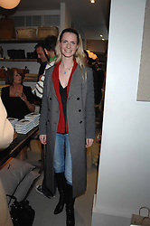 CHLOE DELEVINGNE at a book signing of Lady Annabel Goldsmith's book 'Copper: A Dog's Life' held at Mungo & Maud, 79 Elizabeth Street, London SW1 on 20th February 2007.<br /><br />NON EXCLUSIVE - WORLD RIGHTS
