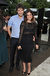 JULIA RESTOIN-ROITFELD and ROBERT KONJIC at the annual Serpentine Gallery Summer Party sponsored by Burberry held at the Serpentine Gallery, Kensington Gardens, London on 28th June 2011.