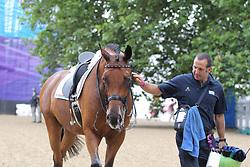 , <br /> London - Olympische Spiele 2012<br /> <br /> Dressur Grand Prix de Dressage<br /> © www.sportfotos-lafrentz.de/Stefan Lafrentz