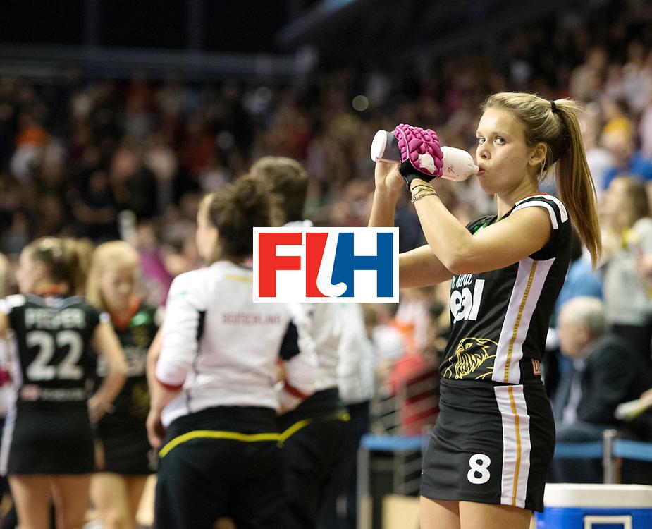 BERLIN - Indoor Hockey World Cup<br /> Final: Netherlands - Germany<br /> foto: Anne Schr&ouml;der <br /> WORLDSPORTPICS COPYRIGHT FRANK UIJLENBROEK