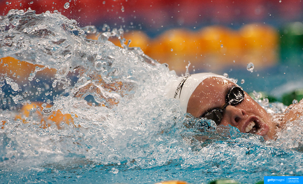 Lisbeth (Libby) Trickett during the 100m heats at the Australian Swimming Championships and Selection Trials for the XIII Fina World Championships held at Sydney Olympic Park Aquatic Centre, Sydney, Australia on March 18, 2009. Photo Tim Clayton