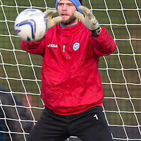 St Johnstone Training....30.12.14<br /> Keeper Alan Mannus pictured in training this morning ahead of the New Years Day game at Aberdeen.<br /> Picture by Graeme Hart.<br /> Copyright Perthshire Picture Agency<br /> Tel: 01738 623350  Mobile: 07990 594431