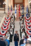 Vietnam Veterans Day in Georgia - A tribute to Georgia Vietnam Medal of Honor Recipients, Atlanta, Georgia - Cadets of Westlake High School JROTC