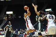 "Ole Miss Lady Rebels' Diara Moore (10) vs. Mississippi Valley State's Alia Frank (22) at the C.M. ""Tad"" Smith Coliseum in Oxford, Miss. on Tuesday, November 27, 2012."