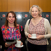 28/08/2015             <br /> Pharmaceutical Manufacturing Technology Centre (PMTC) Knowledge day at the Kemmy Business School, University of Limerick.    <br />   Pictured at the event were, Michelle Jobber and Nuala Lynne of Wyeth Nestle Askeaton.  Picture: Alan Place